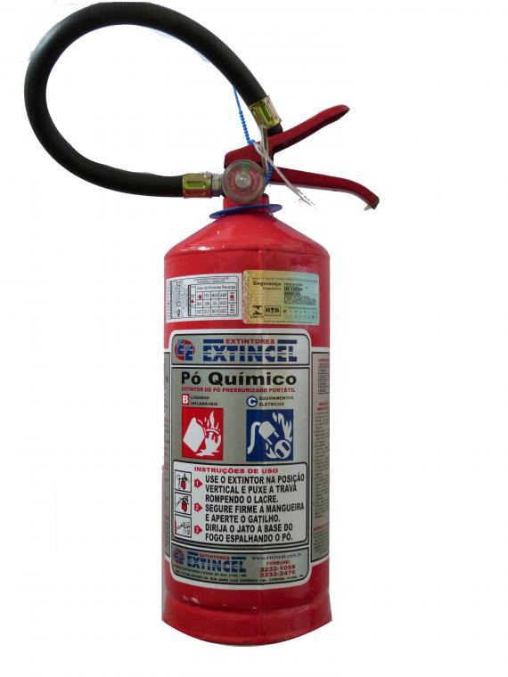 Extintor port�til - P� qu�mico BC 04 kg