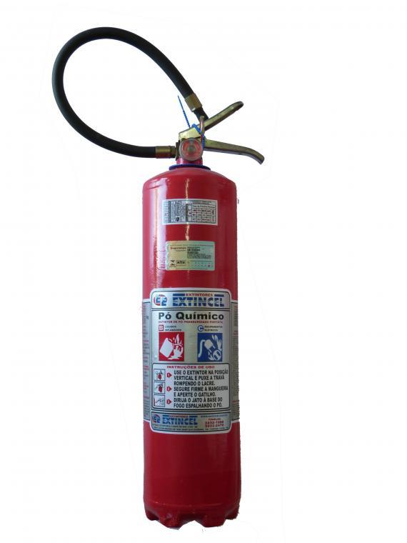 Extintor port�til - P� qu�mico BC 06 kg