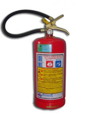 Extintor port�til - P� qu�mico BC 08 kg