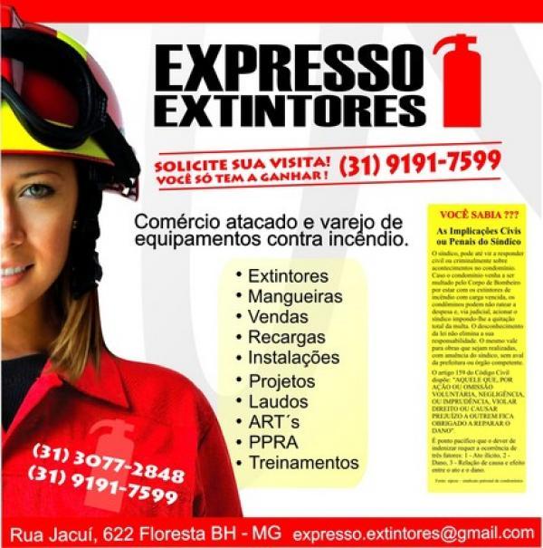 Extintor port�til - Agu� Pressurizada 10 litros